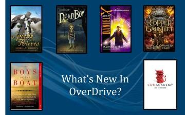 New YA Books in OverDrive   September 2015