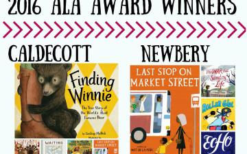 Winners of 2016 ALA Youth Media Awards Announced