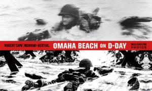 Omaha Beach on D-Day