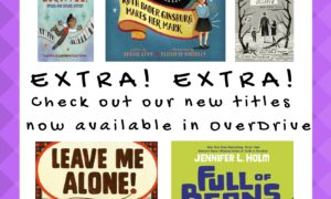 What's New in OverDrive: Elementary Titles, February 2017