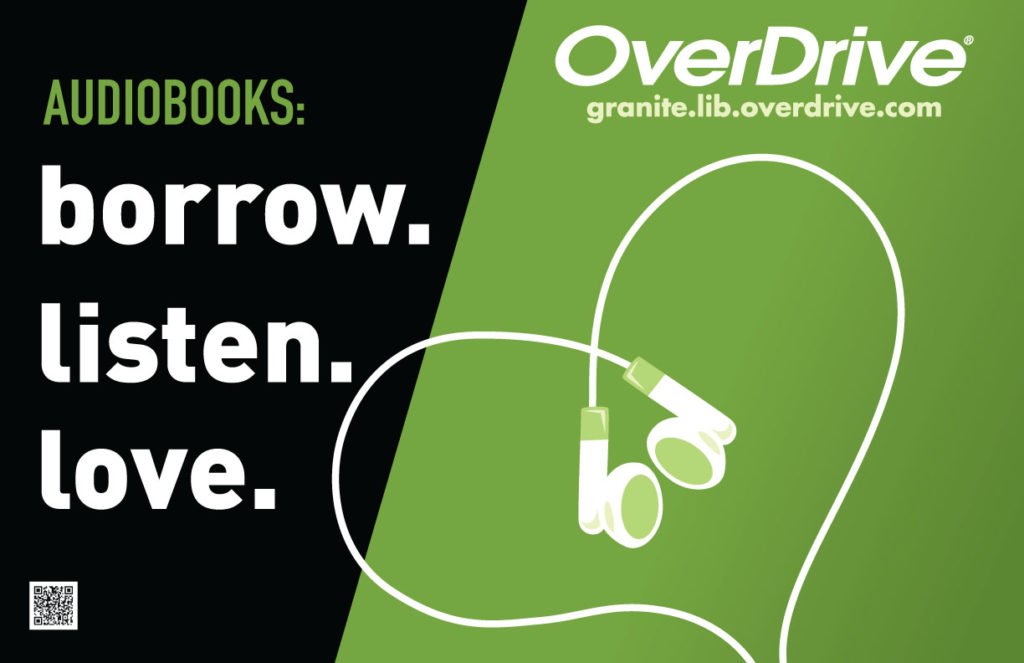 OverDrive-Poster-AudiobooksBorrowListenLove-Green