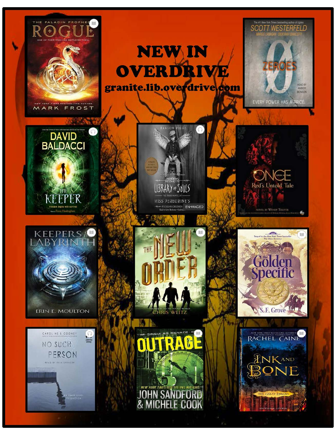 New in OverDrive 2015-10 JH and HS