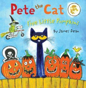 Pete the Cat - Five Little Pumpkins