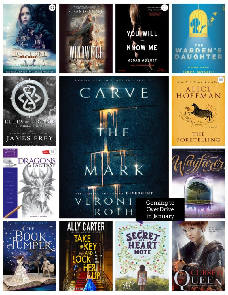What S New In Overdrive Young Adult Fiction January 2017 Granite