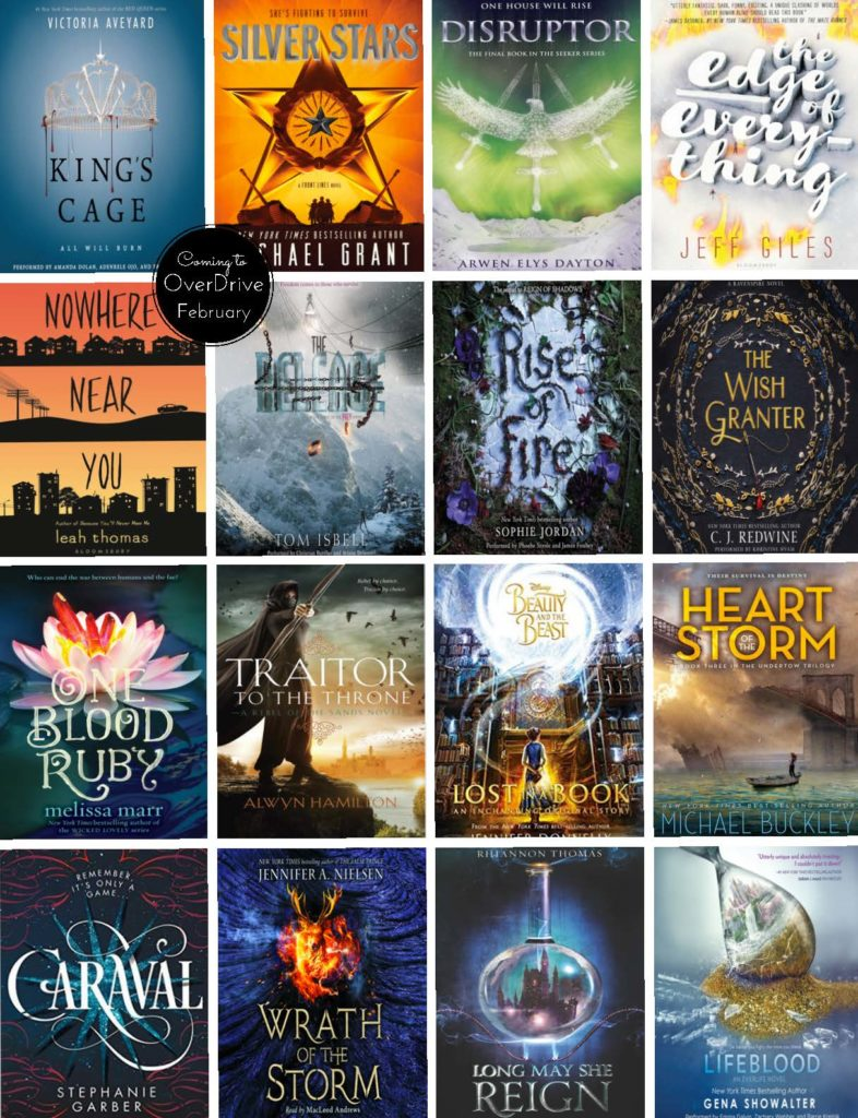 What S New In Overdrive Young Adult Fiction February 2017