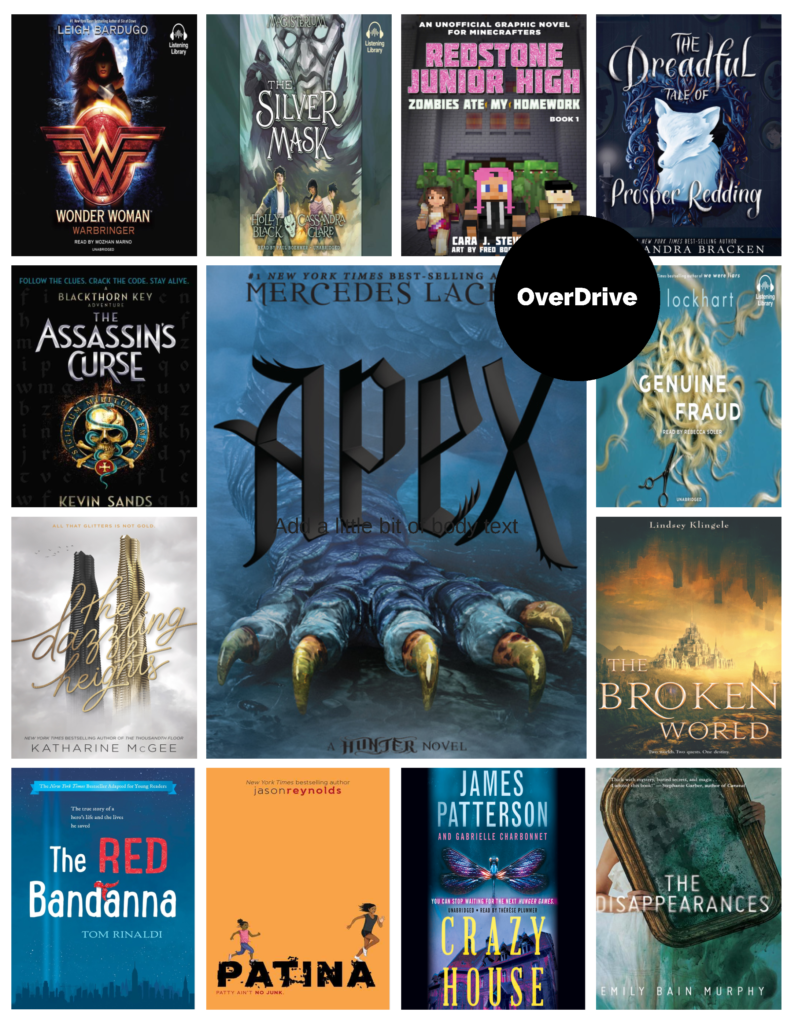 Poster - New YA Books in OverDrive Sept. 2017 - 2