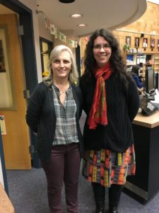LMETS Stephanie Hamilton with Author Rachel Hartman