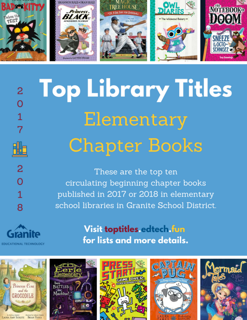 2017-2018 Top Titles - Elementary Chapter Books