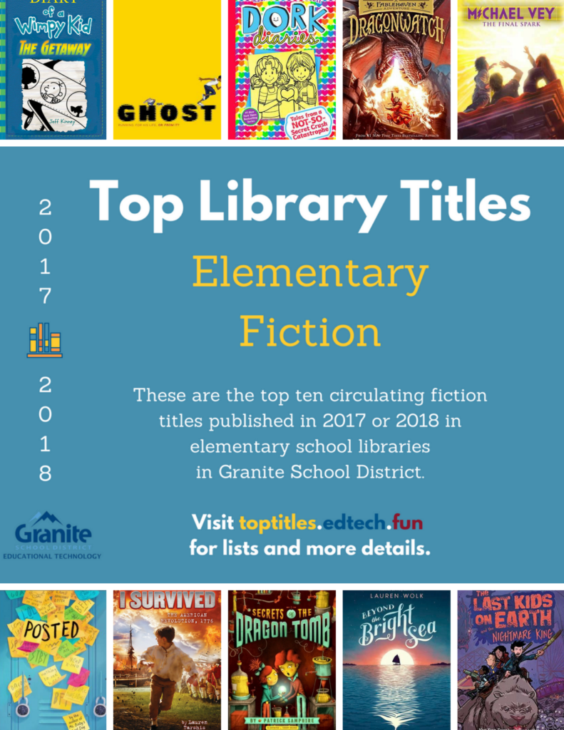 2017-2018 Top Titles - Elementary Fiction
