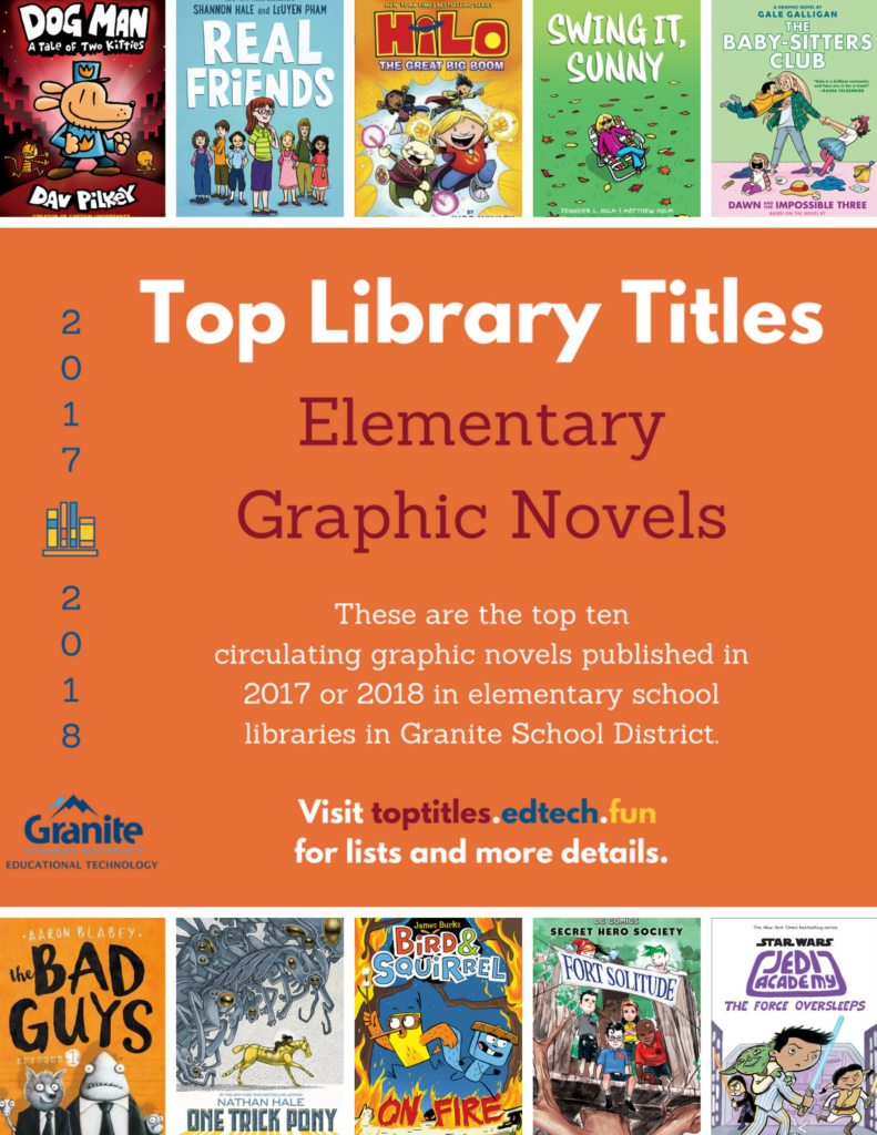 2017-2018 Top Titles - Elementary Graphic Novels