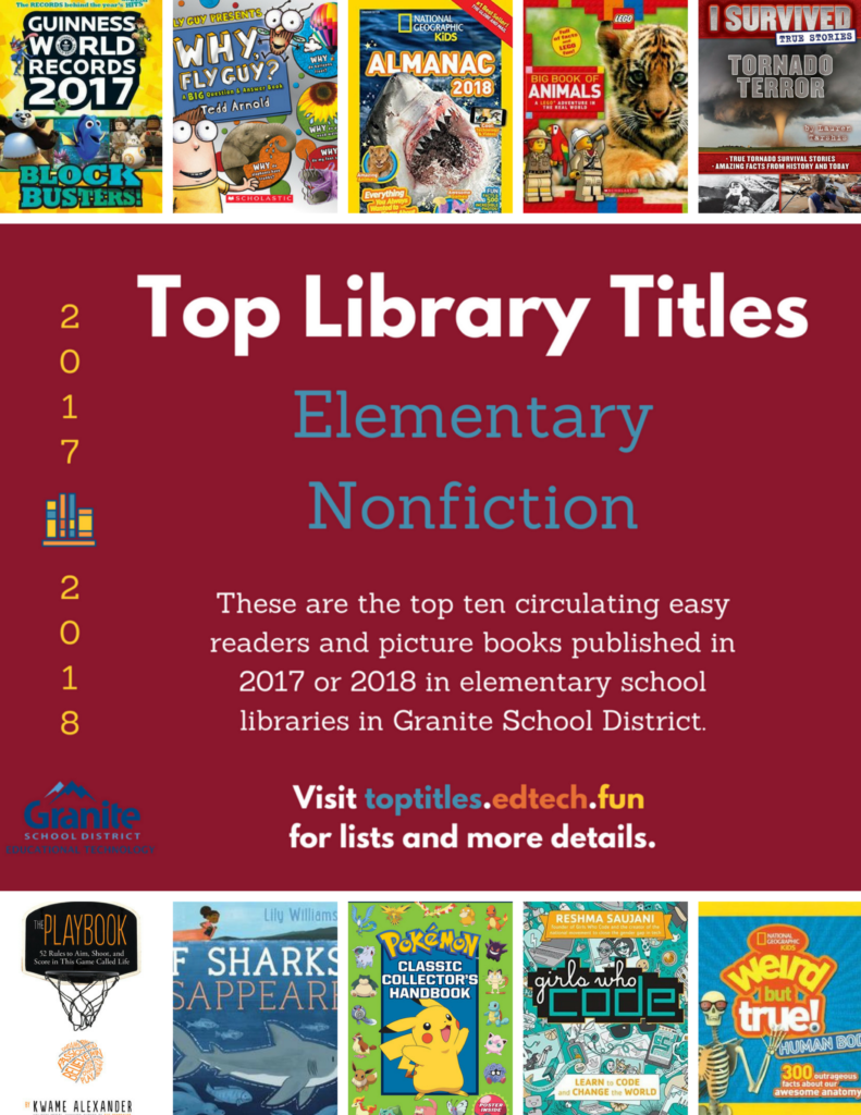 2017-2018 Top Titles - Elementary Nonfiction