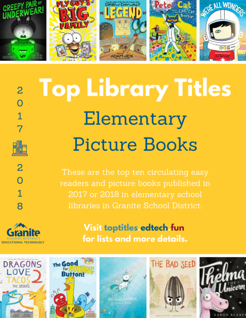 2017-2018 Top Titles - Elementary Picture Books