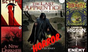 Horror Books in OverDrive/Sora, October 2018