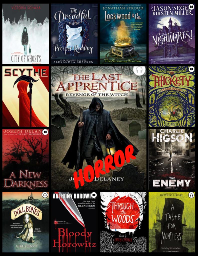 Horror Books In Overdrive Sora October 2018 Granite Media