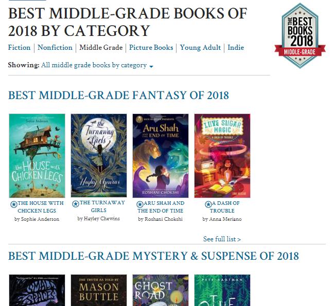 From Granite Media: Best Books of 2018