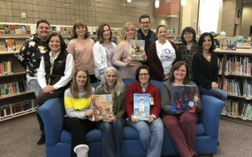 2019 Mock Caldecott with Elementary Media Clerks