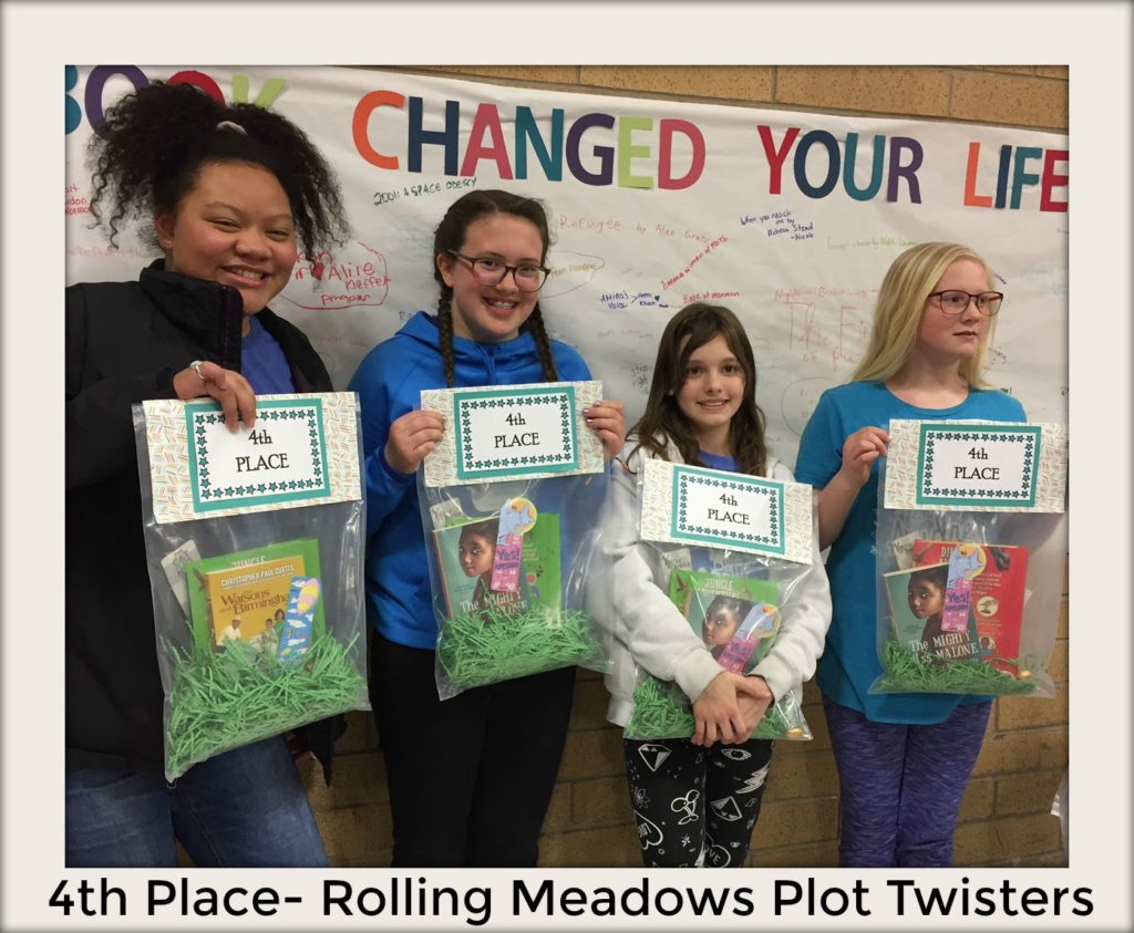 2019 Battle of the Book District Competition - 4th Place - Plot Twisters - Rolling Meadows El