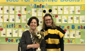 Library Spotlight: Upland Terrace Elementary Students Announce 2019 Beehive Book Award Winners