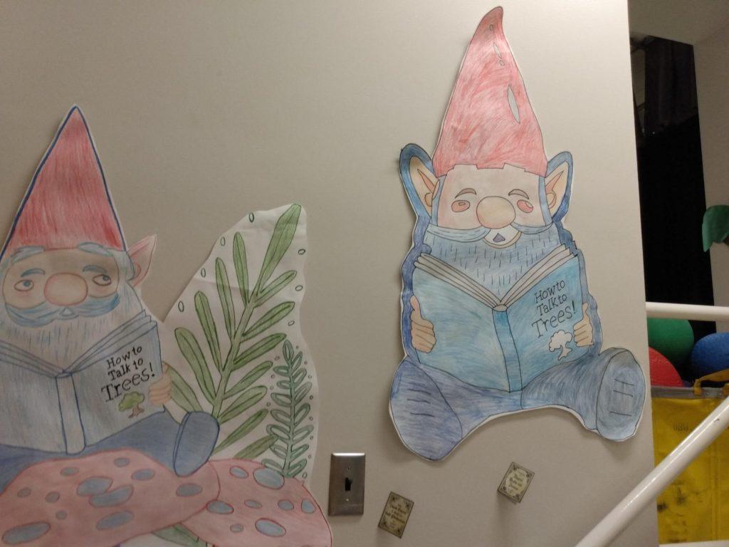 Book Fair Wall Decorations at Western Hills Elementary - Ann Visser